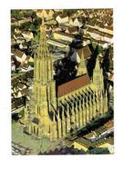 Cpm - Ulm An Der Donau - Ville En Allemagne - Cathédrale Travaux échafaudage - Allemagne