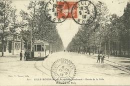 59  LILLE - ROUBAIX PAR LE NOUVEAU BOULEVARD - ENTREE DE LA VILLE (ref 5641) - Lille