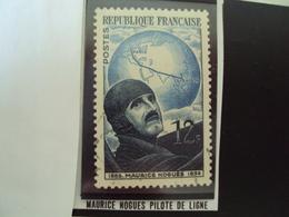 """A Partir De 1950 - Timbre Oblitéré N°  907b Papier Carton    """"  Maurice Nogues Pilote De Ligne    """"       2  Euros - France"""