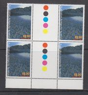 AAT 1996 Landscapes/Landforms  1.20 A$ 2x Gutter ** Mnh (42101) - Australian Antarctic Territory (AAT)