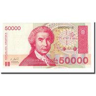 Billet, Croatie, 50,000 Dinara, 1993-05-30, KM:26a, NEUF - Croatie