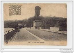 Lion De La Gileppe - Timbrée Et Voyagé 1920 - Gileppe (Barrage)