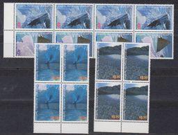 AAT 1996 Landscapes/Landforms 4v Bl Of 4 ** Mnh (42102) - Australisch Antarctisch Territorium (AAT)