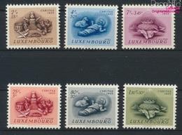 Luxemburg 541-546 (kompl.Ausg.) Postfrisch 1955 Brauchtum (9256331 - Luxemburg