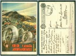 """Z600 ITALIA REGNO 1942 Franchigia Militare Corpo Di Spedizione Italiano In Russia """"Corpo D'Armata Autotrasportabile"""", - 1900-44 Victor Emmanuel III"""
