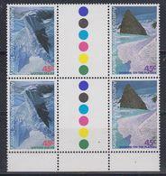 AAT 1996 Landscapes/Landforms 2 Gutter Pairs ** Mnh (42104) - Ongebruikt