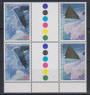 AAT 1996 Landscapes/Landforms 2 Gutter Pairs ** Mnh (42104) - Australisch Antarctisch Territorium (AAT)