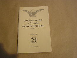 SOCIETE BELGE D'ETUDES NAPOLEONIENNES N° 34 Histoire 1 Er Empire Napoléon Imagerie Epinal Finlande Royal Horse Artillery - Histoire