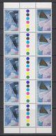 AAT 1996 Landscapes/Landforms Strip 5 Gutter Pairs ** Mnh (42105) - Australisch Antarctisch Territorium (AAT)