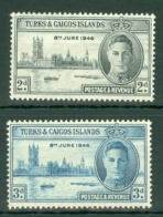 Turks & Caicos Is: 1946   Victory     MNH - Turks And Caicos