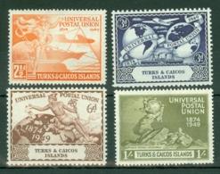 Turks & Caicos Is: 1949   U.P.U.     MH - Turks And Caicos