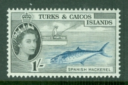 Turks & Caicos Is: 1957   QE II - Pictorial   SG246    1/-      MH - Turks And Caicos