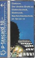 PTT P: KP-94/445 409L Elektron - Svizzera