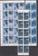 AAT 1996 Landscapes/Landforms 4v 10x ** Mnh (42106) - Ongebruikt