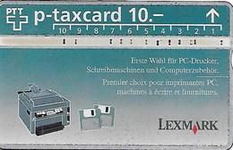 PTT P: KP-94/161 404L Lexmark - Svizzera