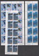 AAT 1996 Landscapes/Landforms 4v 10x ** Mnh (42107) - Australisch Antarctisch Territorium (AAT)