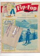 FIP-FOP MAGAZINE - N° 1 - REVUE JEUNES - NESTLE - G. MONNERET CHAMPION DU MONDE MOTO + MARCOPHILIE BANDE EXPEDITION - Libri, Riviste, Fumetti
