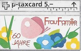 PTT P: KP-93/43 326L Frau + Familie - Svizzera