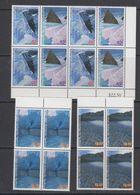 AAT 1996 Landscapes/Landforms 4v Bl Of 4 ** Mnh (42108) - Australisch Antarctisch Territorium (AAT)