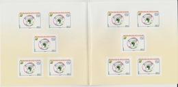 Côte D'Ivoire Ivory Coast 2018 Carnet Booklet MH 27ème Congrès UPU Union Postale Universelle Map Elephant Elefant - Côte D'Ivoire (1960-...)