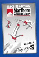 A.C. LES GETS SKI SHOW Marlboro - Stickers