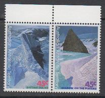 AAT 1996 Landscapes/Landforms  0.45 A$ 1x In Pair ** Mnh (42110) - Unused Stamps