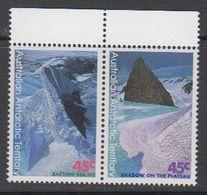 AAT 1996 Landscapes/Landforms  0.45 A$ 1x In Pair ** Mnh (42110) - Australisch Antarctisch Territorium (AAT)