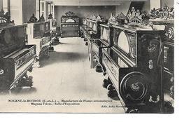 28 - NOGENT LE ROTROU - Manufacture De Pianos Automatiques Magnan Frères ... - Nogent Le Rotrou