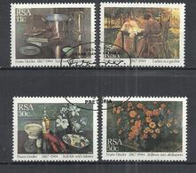 SOUTH AFRICA 1985 - PAINTINGS BY F.D.OERDER - CPL. SET - USED OBLITERE GESTEMPELT USADO - Afrique Du Sud (1961-...)