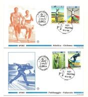 1995 - San Marino 1442/45 Campionati Mondiali - FDC - Francobolli