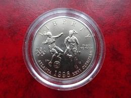 Etat Unis - 1/2 - Half Dollar 1996 - Centenaire Des Jeux Olympiques - Football - Atlanta - Federal Issues