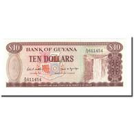 Billet, Guyana, 10 Dollars, Undated (1989), KM:23d, NEUF - Guyana