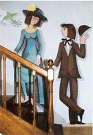 Les Amoureux De Peynet Peinture De C Colas - Künstlerkarten