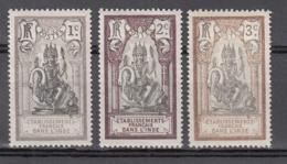 Inde  25 à 27 * - Unused Stamps