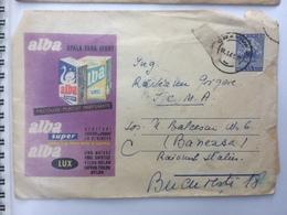 24 DETERGENT DISH WASH ALBA PARFUMED PRODUCTS SWAN CRAIOVA ROMANIA STATIONARY COVER 1961 - 1948-.... Républiques