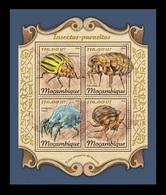 Mozambique 2018 Mih. 9194/97 Fauna. Insects-Parasites MNH ** - Mosambik