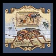 Mozambique 2018 Mih. 9198 (Bl.1279) Fauna. Insects-Parasites MNH ** - Mosambik