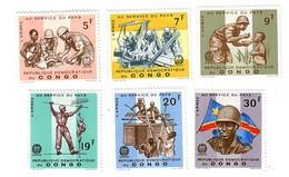 Congo Belge - Belg.Kongo Nr 605-610      Neufs - Postfris - MNH   (xx) - Republic Of Congo (1960-64)