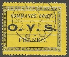 Boer War. P.A.K.GLEN Postmark Commando Brief Orange Free State. Very Rare. - Südafrika (...-1961)