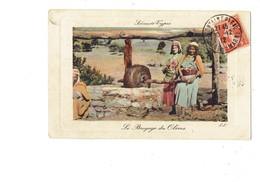 Cpa - Scènes Et Types - Le Broyage Des Olives - Animation Métier - Olive - 1912 - LL - Landbouwers