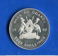 Ouganda  2000 Shillings  Arg  999/1000  Proof - Uganda