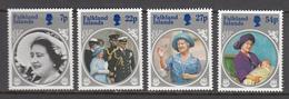 Falkland Island MNH Michel Nr 427/30 From 1985 / Catw 6.00 EUR - Falklandeilanden