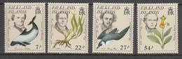Falkland Island MNH Michel Nr 436/39 From 1985 / Catw 11.00 EUR - Falklandeilanden