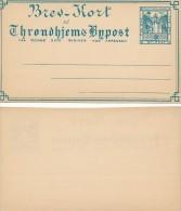 THRONDHJEMS - Bypost  -  Brev-Kort , Privatpost - Ganzsachen