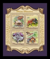 Mozambique 2018 Mih. 9189/92 Fauna. Insects. Micro Monsters MNH ** - Mosambik