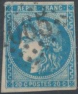 1870 - No 42A  20c - 1870 Bordeaux Printing