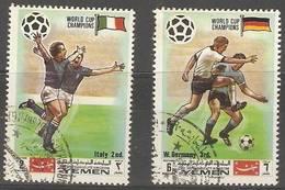Yemen (Kingdom)  - 1970 World Cup Champions CTO - Yemen