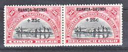 Ruanda Urundi Nr 77-78    Neuf - Postfris - MNH  (xx) - Ruanda-Urundi