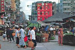 Hong Kong - Market Existing In The Open Street - Photo Cheng Ho-Choy - Timbre - China (Hong Kong)