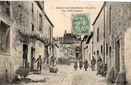 Saulx Les Chartreux  78   Une Vieille Impasse Tres Tres Animée - Autres Communes